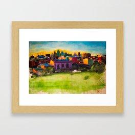 Kansas City, MO Framed Art Print