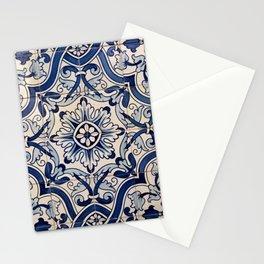 Beautiful Blue Portuguese tile - Azulejo Stationery Cards