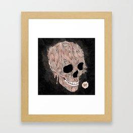 Skulls Aint Dead Framed Art Print