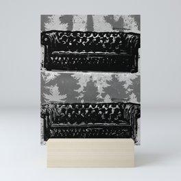 Sinking into the Sofa Mini Art Print