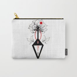 FLOWER INKTOBER Carry-All Pouch