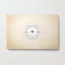Meow? Metal Print