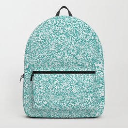 Spacey Melange - White and Verdigris Backpack