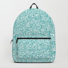 Spacey Melange - White and Verdigris Backpack