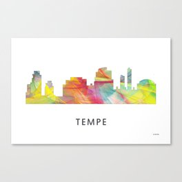 Tempe Arizona Skyline WB1 Canvas Print