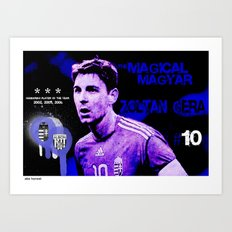 The Magical Magyar - Zoltan Gera Art Print