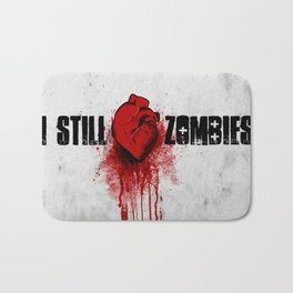 I Still (Heart) Zombies Bath Mat