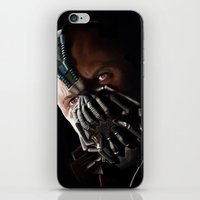bane iPhone & iPod Skins featuring Bane by Rav Chaggar