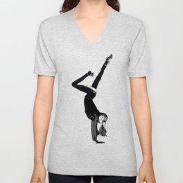 Handstand 1 |Grace Gallo Unisex V-Neck