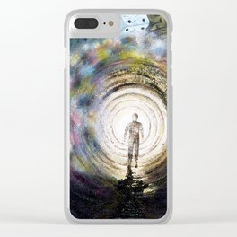 The die is cast... Clear iPhone Case