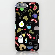 Breakfast pattern iPhone 6s Slim Case