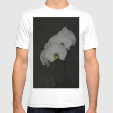 White Orchid White Mens Fitted Tee MEDIUM