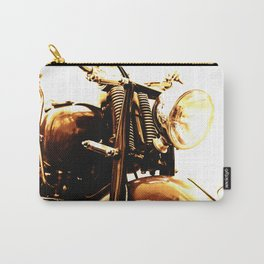 Motorcycle-Sepia Carry-All Pouch