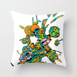 Hiva-01 Throw Pillow