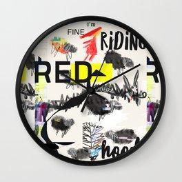 RRH graphic design Wall Clock