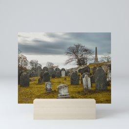 Old Burial Hill, Salem, MA Mini Art Print
