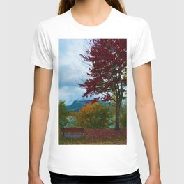 Fall Colours Along the Columbia River in Revelstoke BC T-shirt