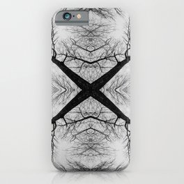 Forest Cross iPhone Case