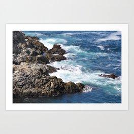 CALIFORNIA COAST - CARMEL - BIG SUR Art Print