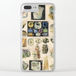 ANTIQUE MINERALS, 1897 Clear iPhone Case