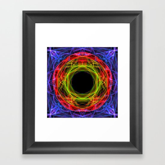 Vacancy / Enter Framed Art Print