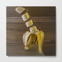 Magic banana Metal Print