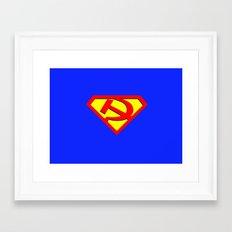 Russian Hero Framed Art Print
