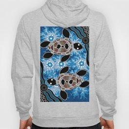 Sea Turtles - Authentic Aboriginal Art Hoody