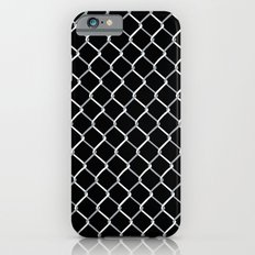 Chain Link on Black Slim Case iPhone 6s