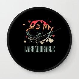 Labrador, Labrador Labrador retriever, Pet Wall Clock
