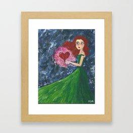 Healing Heart Framed Art Print