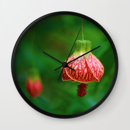 Floral Bell Wall Clock