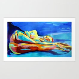 """Womanly"" Art Print"