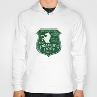 aragorn Hoodies featuring The Prancing Pony Sigil by Nxolab