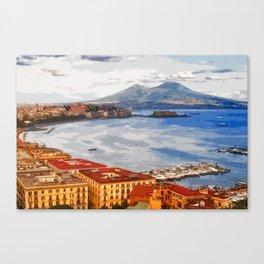 Italy. The Bay of Napoli Canvas Print