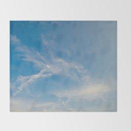 Hummingbird Cloud by Teresa Thompson Throw Blanket