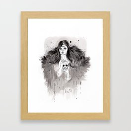Mucho que aprender Framed Art Print