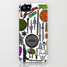 TMNT Weapons & Masks Slim Case iPhone (5, 5s)
