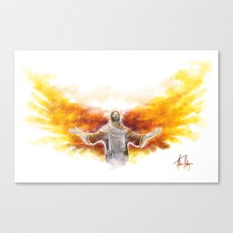 On Wings Like Eagles (Isaiah 40:31) Canvas Print