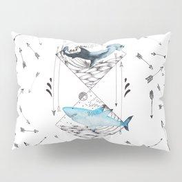 sharks & arrows Pillow Sham