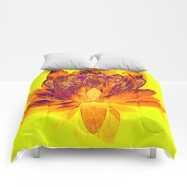 Early morning Lotus.... Comforters