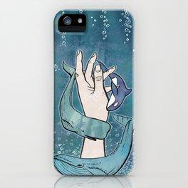 Poseidon's Whales iPhone Case