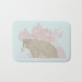 Bear! Bath Mat