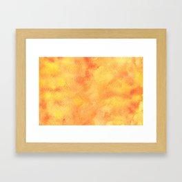 AUTUMN BACKGROUND Framed Art Print