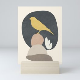 Cute Little Bird II Mini Art Print
