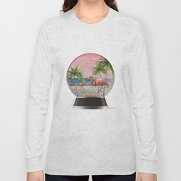 Vacation Globe Long Sleeve T-shirt
