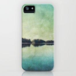 River Mirror iPhone Case