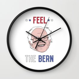 Feel The Bern Wall Clock