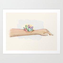 Hematocrystallin Art Print