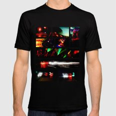 Do You See What I See? Black MEDIUM Mens Fitted Tee